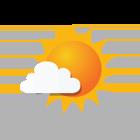 Geregeld zon, maar ook enkele wolken
