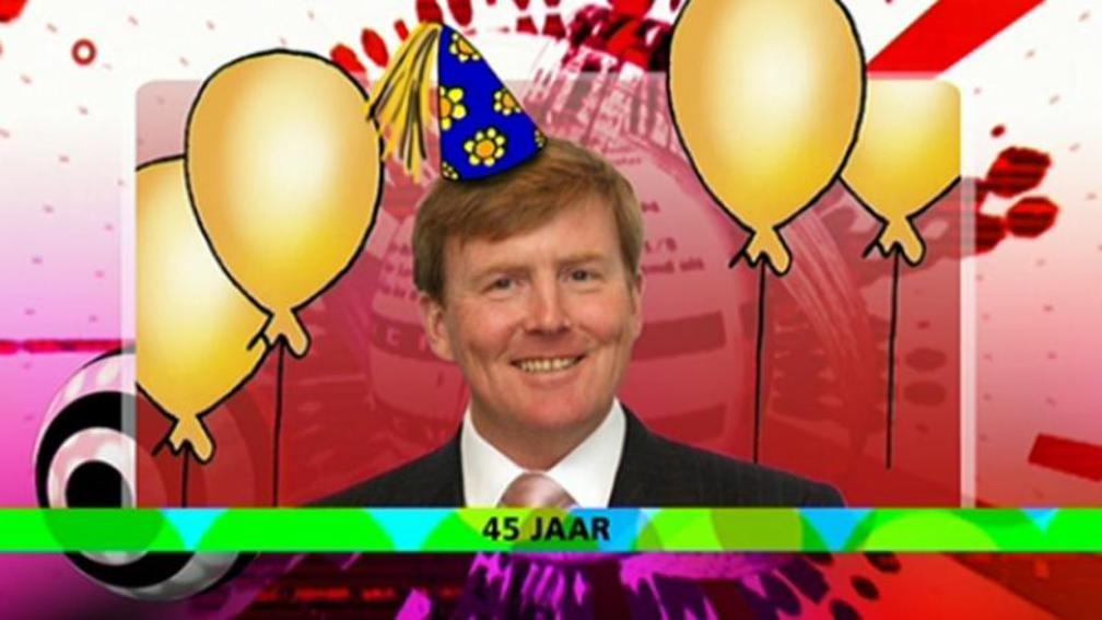 Willem Alexander Is Jarig Nos Jeugdjournaal