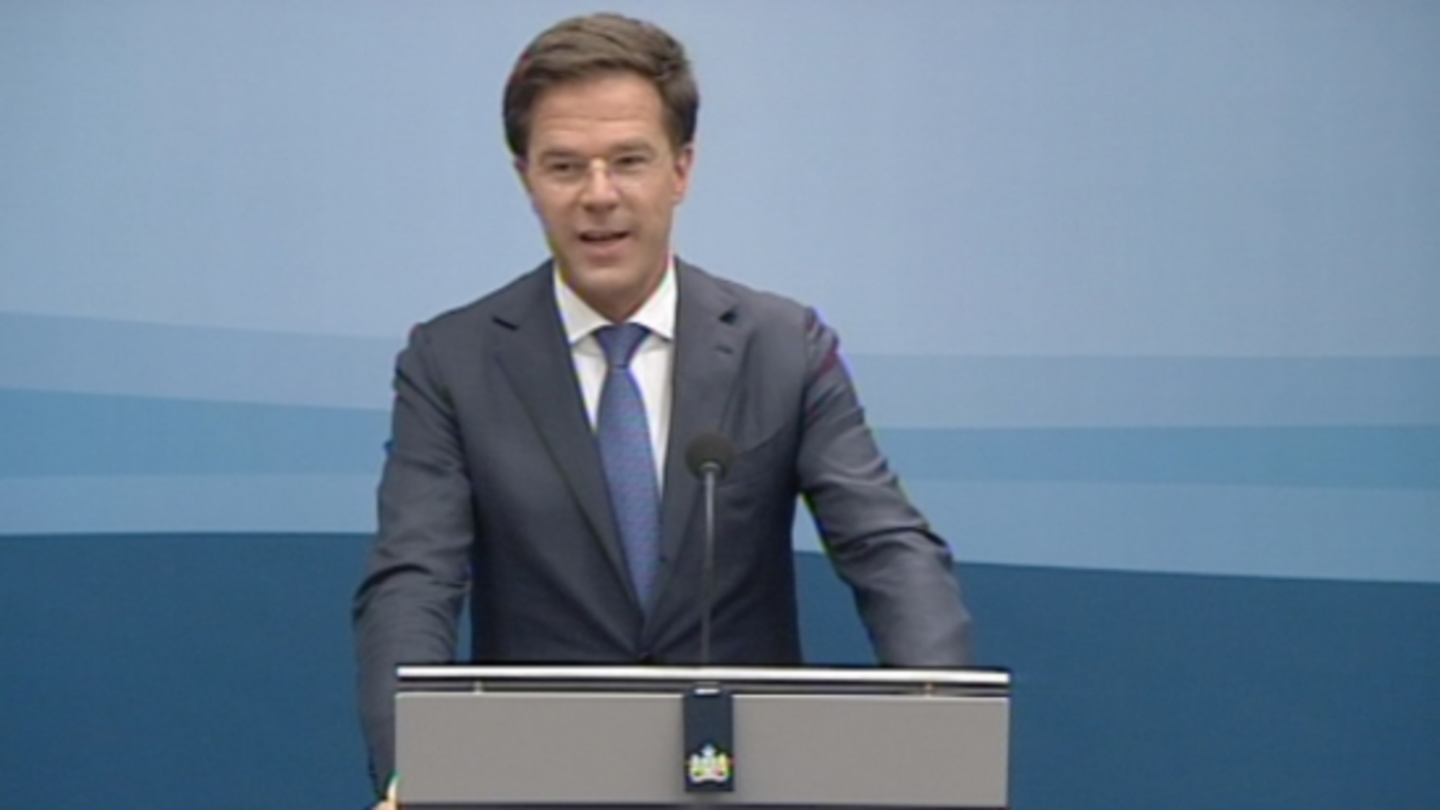 Persconferentie Premier Rutte Na Ministerraad