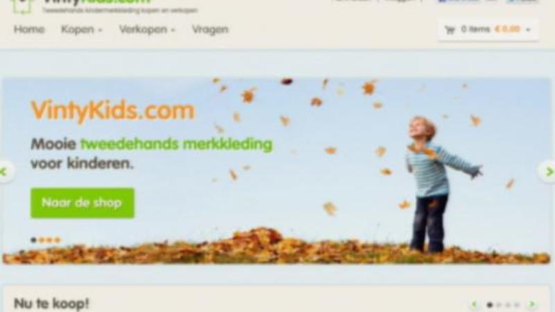 Kinderkleding Webwinkel.Webwinkel Met Tweedehands Kinderkleding Nos Jeugdjournaal