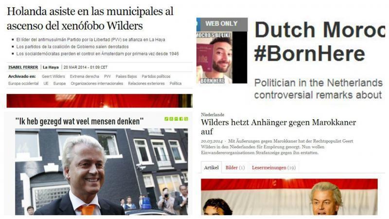Facebook en Twitter druk met Wilders
