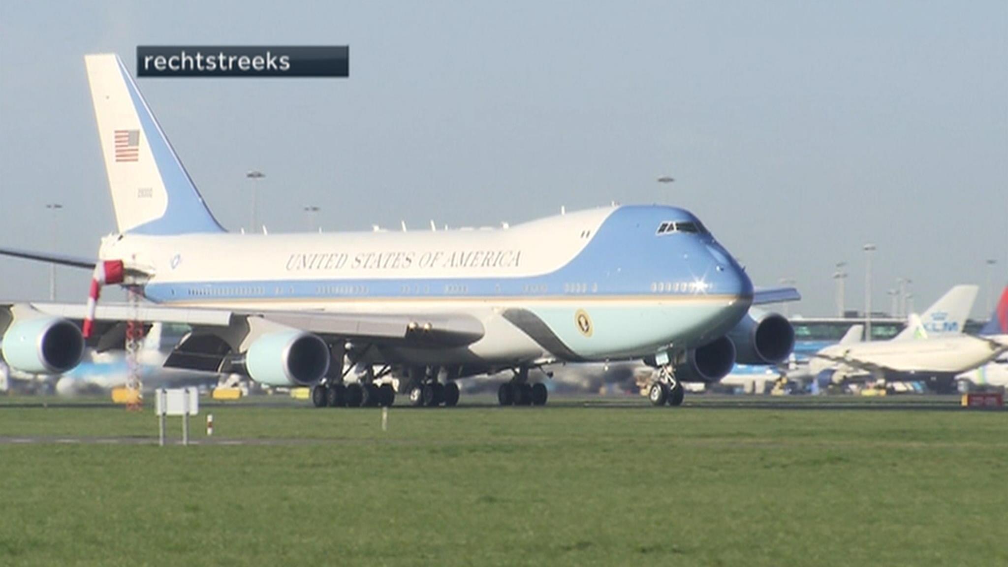 Air Force 1 nederland