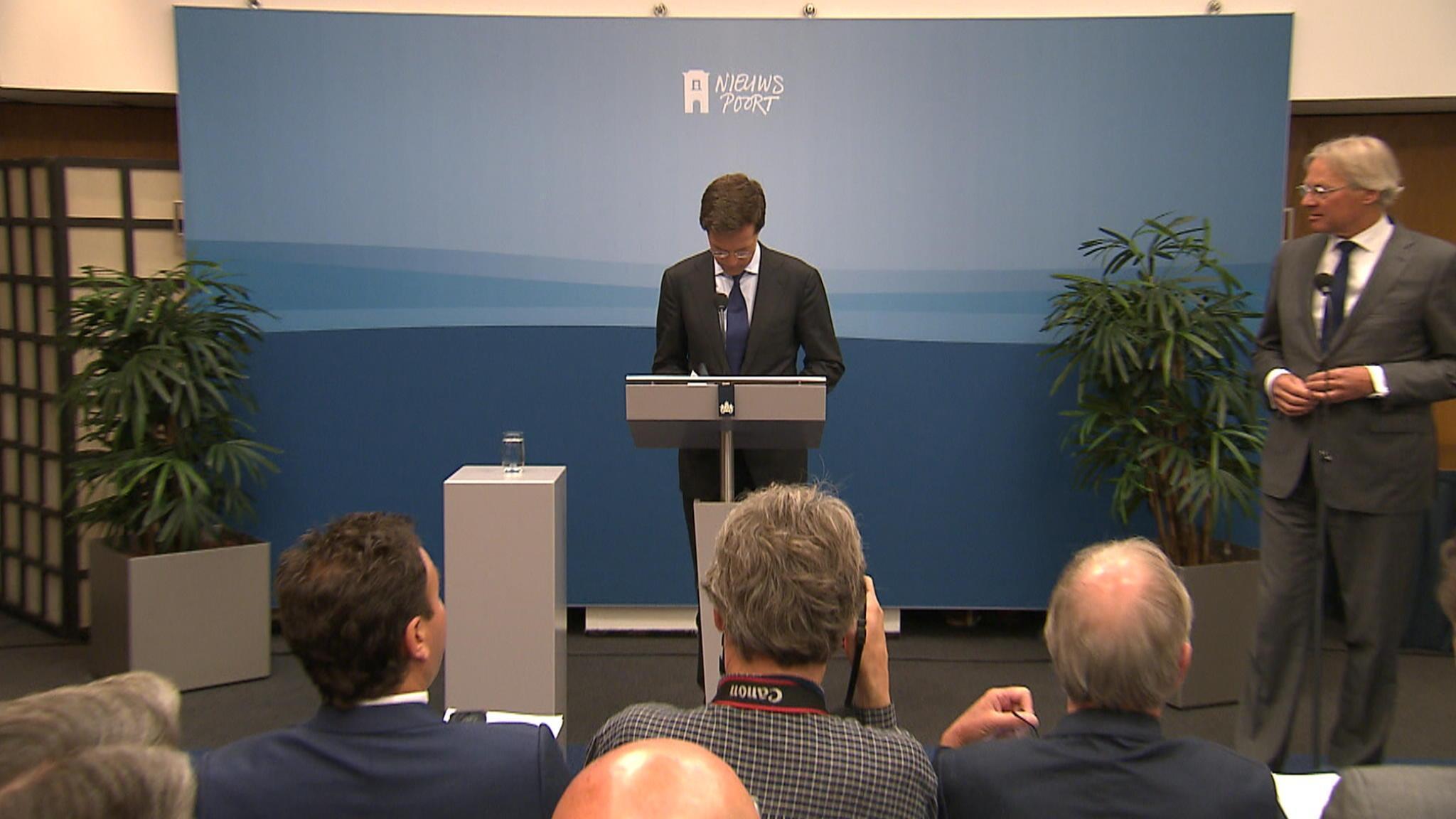 Wekelijkse Persconferentie Premier Rutte