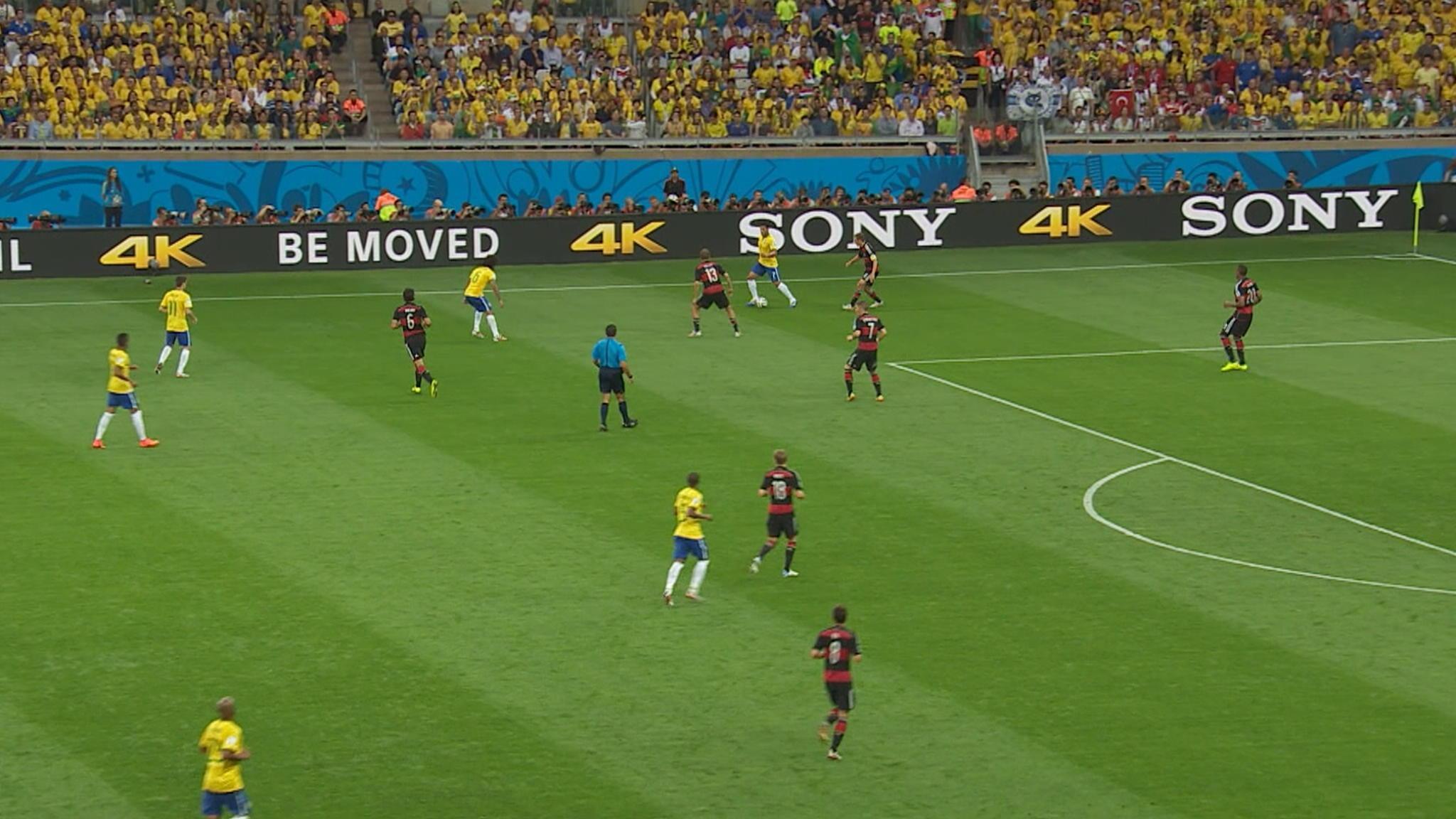 WK 2014: Brazilië - Duitsland   NOS