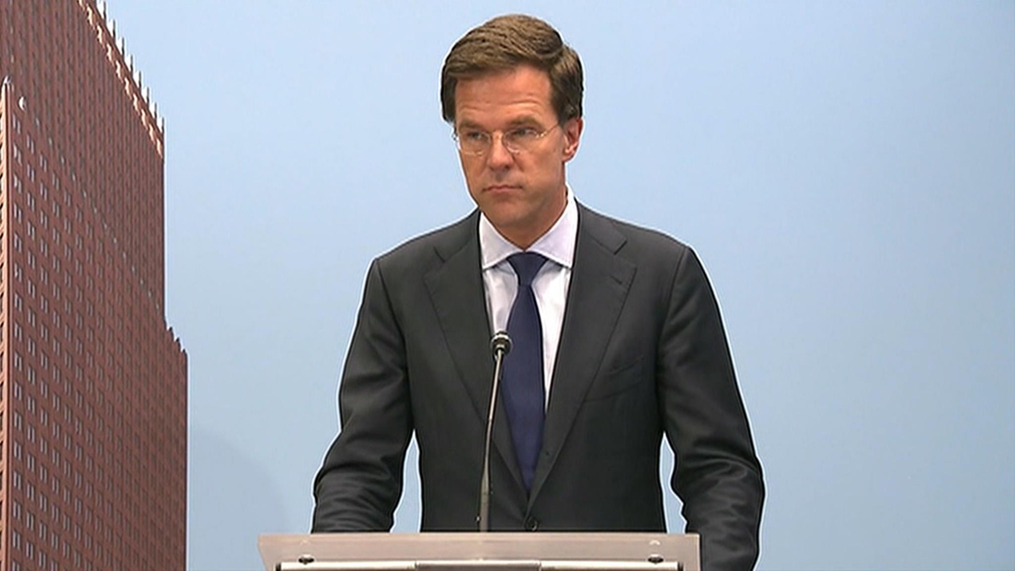 Bekijk De Hele Persconferentie Van Premier Rutte