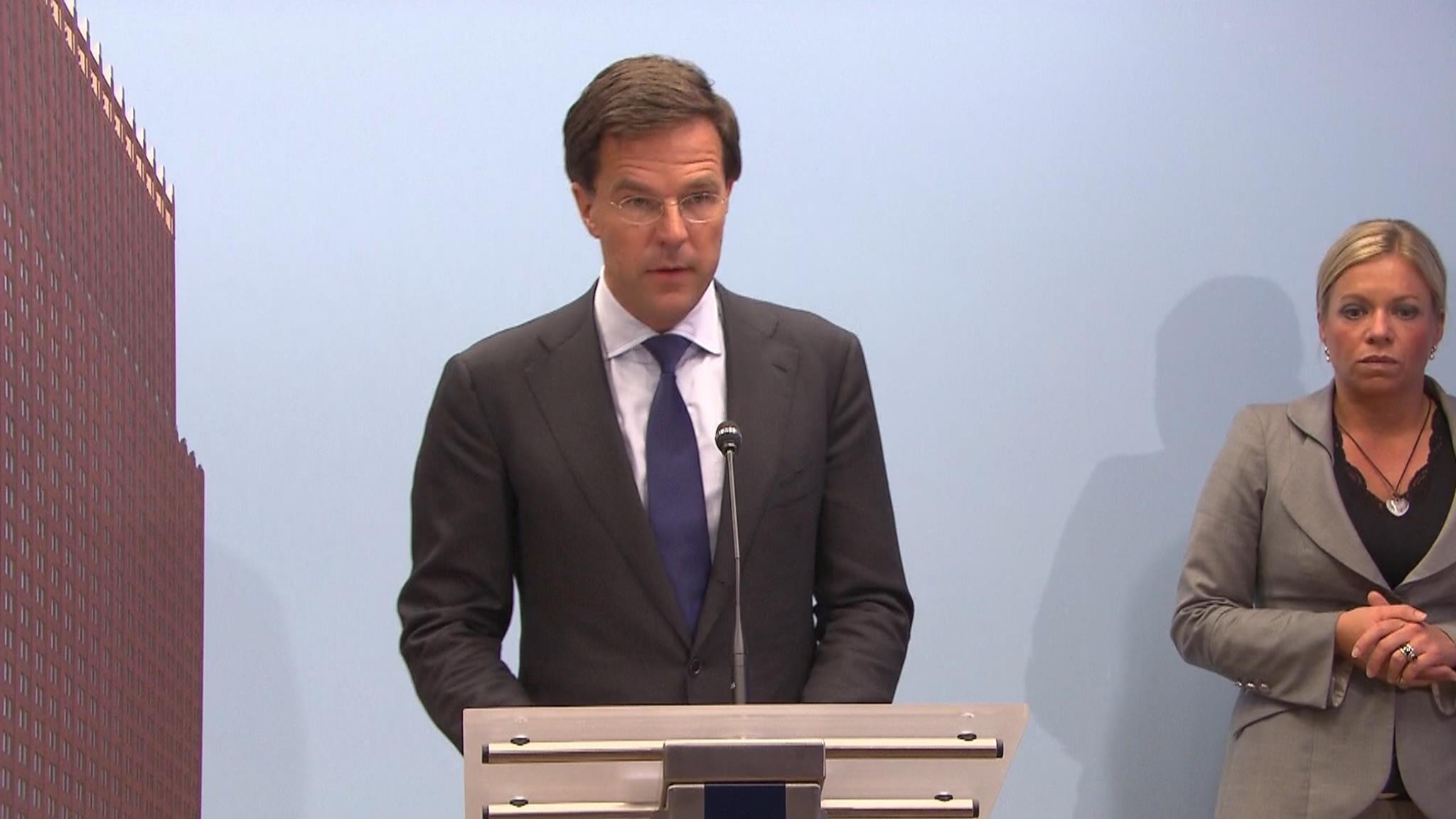 Gehele Persconferentie Premier Rutte
