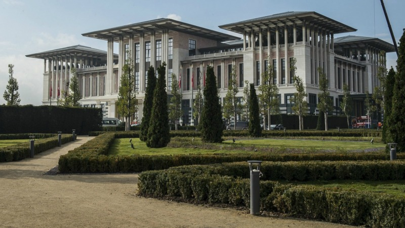 grootste presidenti le paleis ter wereld voor erdogan nos. Black Bedroom Furniture Sets. Home Design Ideas
