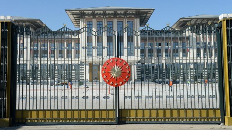 Grootste presidenti le paleis ter wereld voor erdogan nos - Kroonluchter huis van de wereld ...