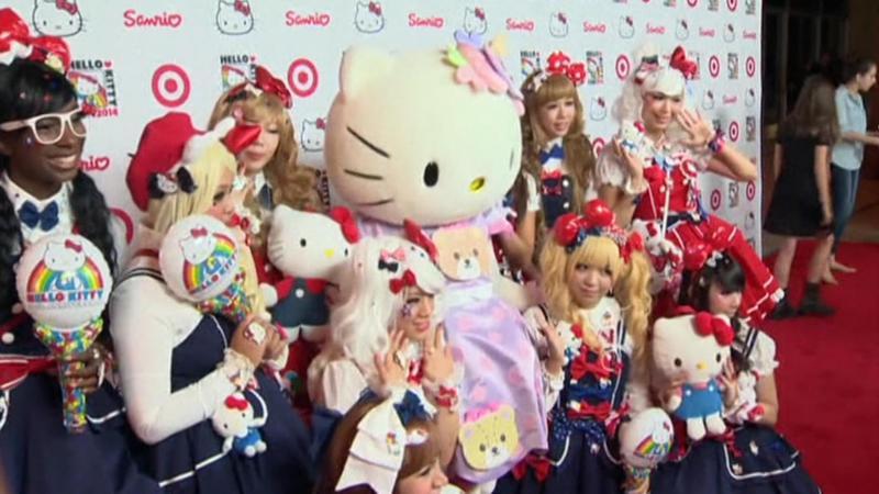 hello kitty 40 jaar Feestje voor 40 jaar Hello Kitty | NOS Jeugdjournaal hello kitty 40 jaar