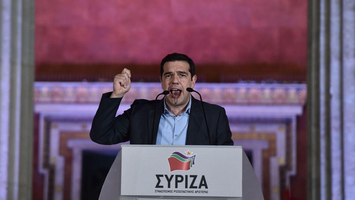 Geen absolute meerderheid voor Syriza
