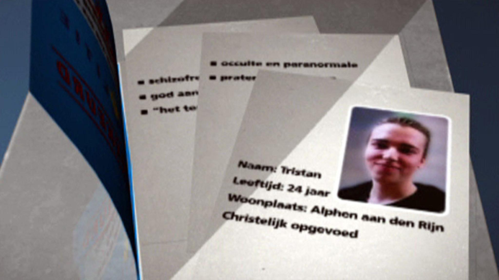 Wie was Tristan van der Vlis? (Portret uit 2011) | NOS