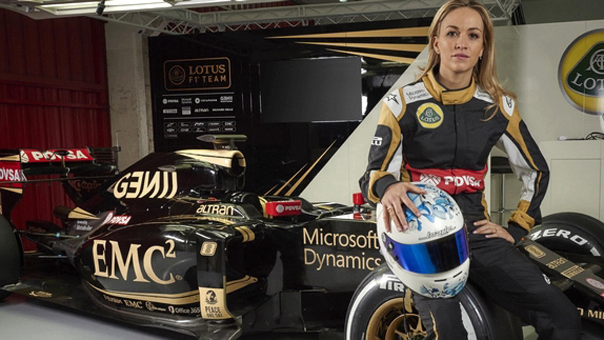 Lotus kiest voor vrouwelijke testcoureur   De Volkskrant