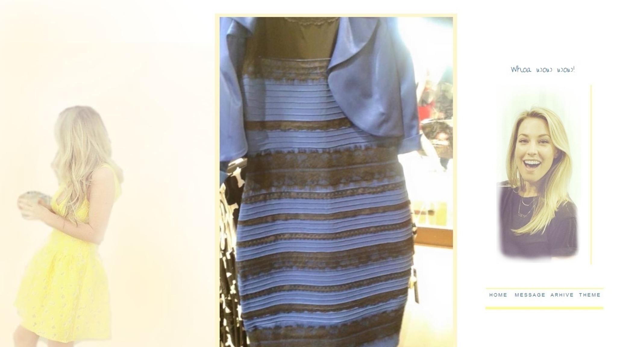 zwarte jurk minder zwart maken