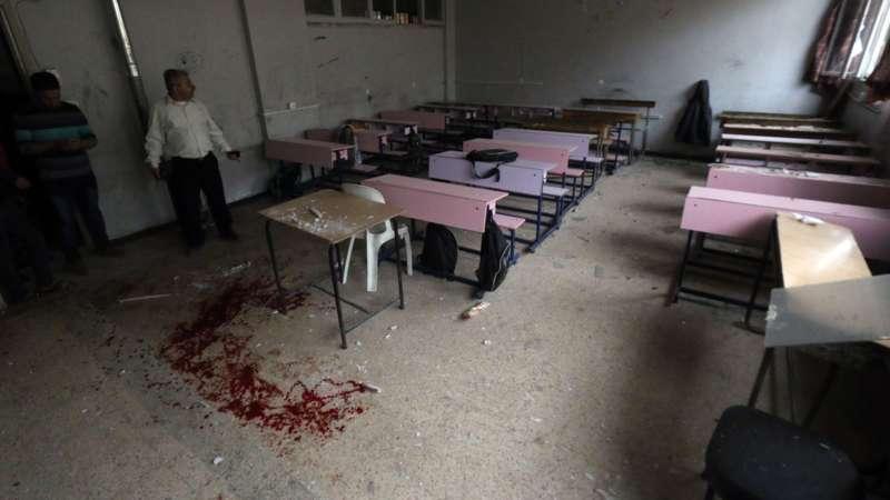'School Aleppo geraakt door Syrische leger' | NOS