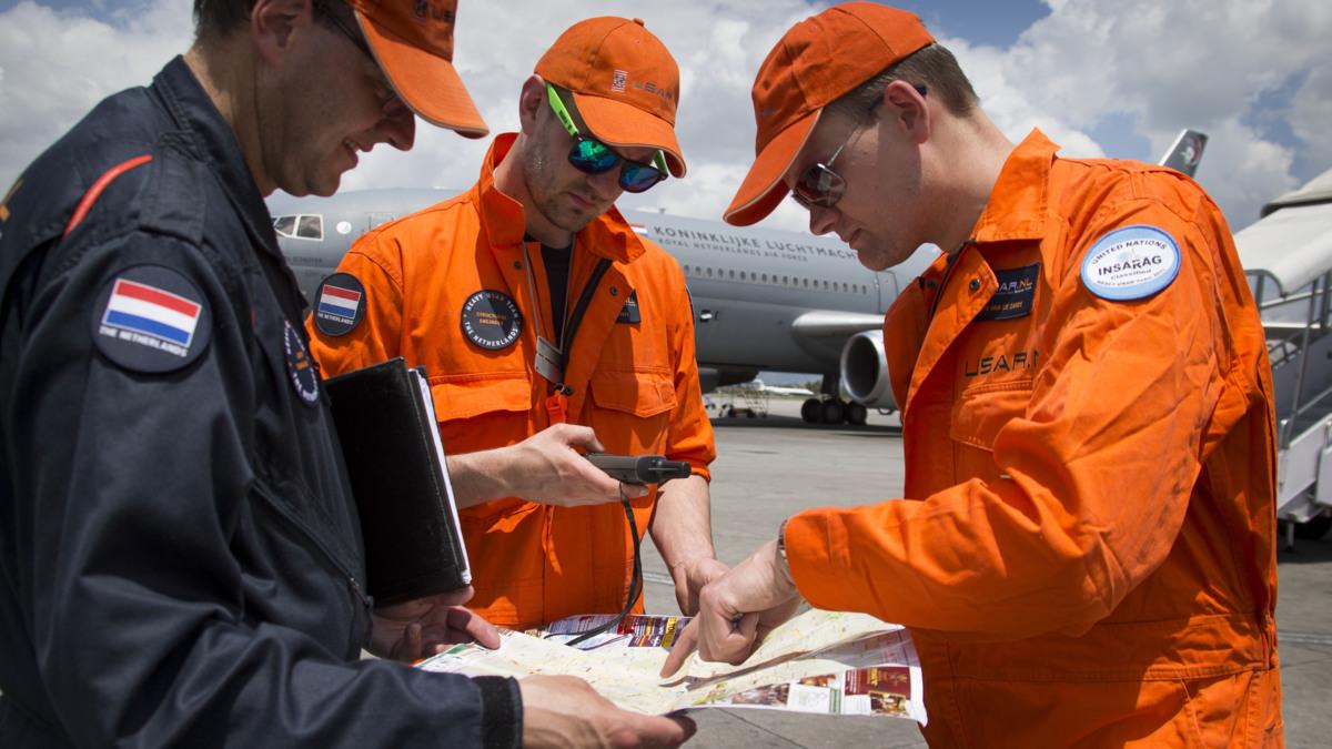 Nederlands reddingsteam vindt nog niemand