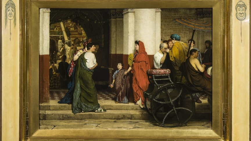 Fries Museum koopt 'sleutelstuk' Alma-Tadema | NOS