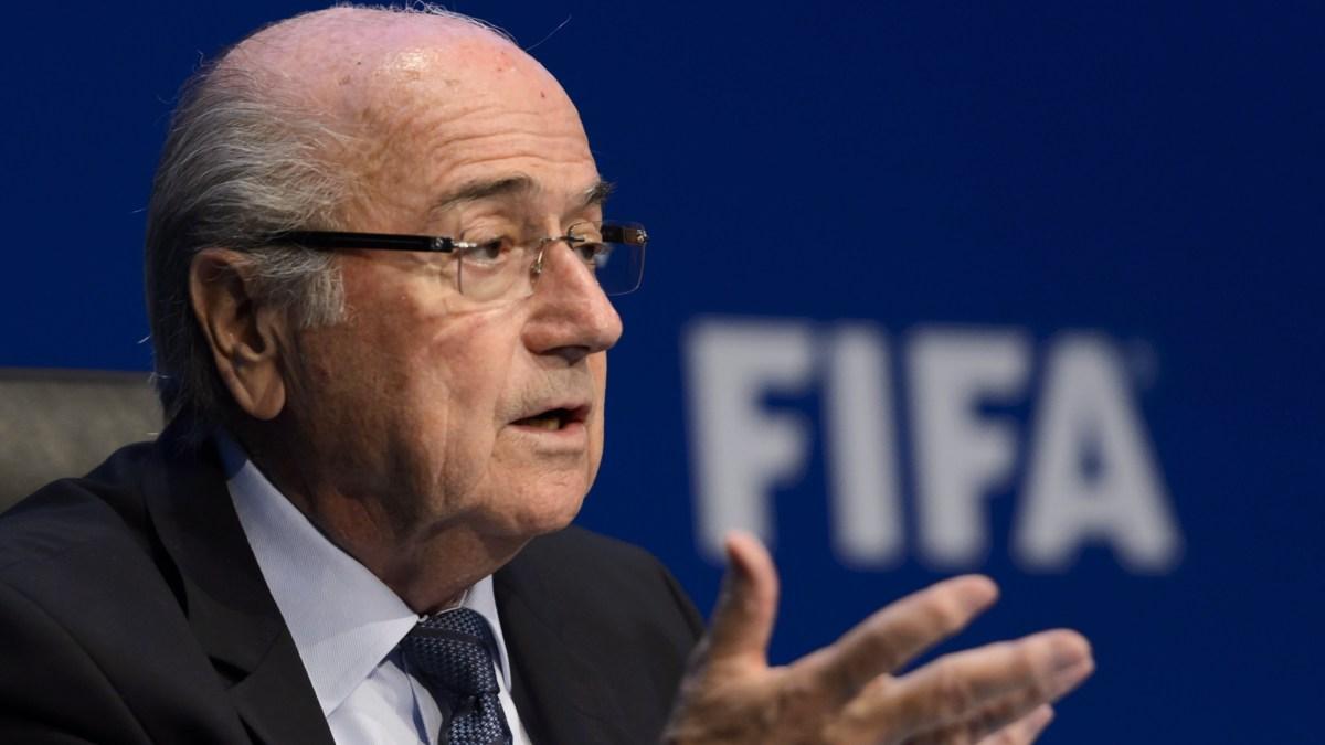 Blatter: de orkaan is geluwd