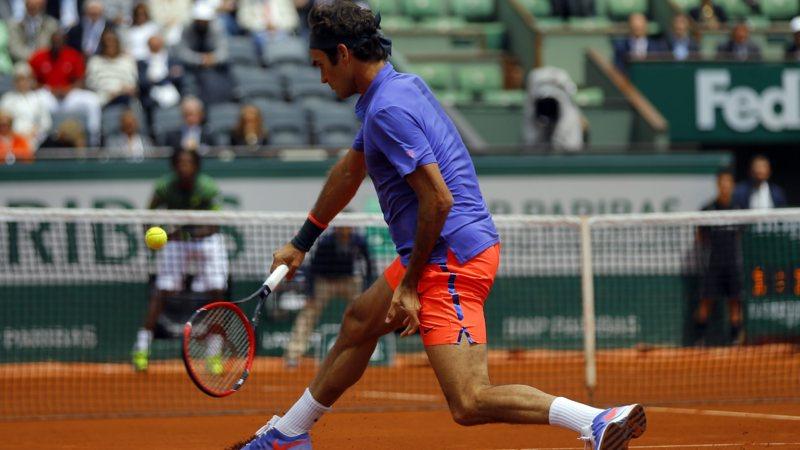 Roland Garros 2015 - Roger Federer