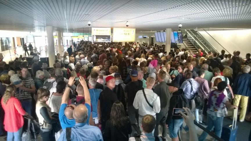 Chaos at Schiphol
