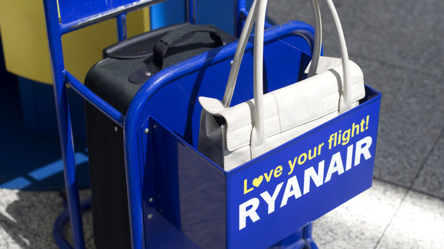 ryanair handbagage inhoud