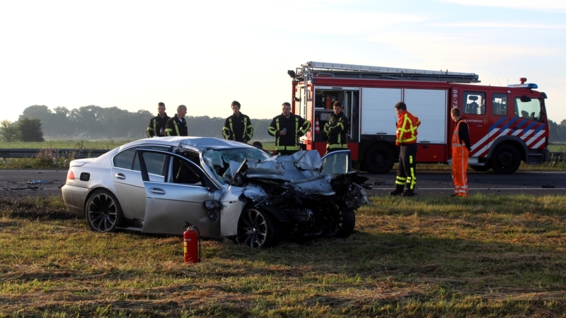 Dode bij ongeluk A28 tussen Zwolle en Amersfoort | NOS