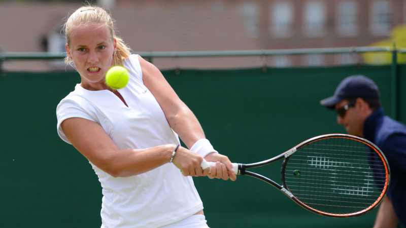 R Hogenkamp Wta Wimbledon vanda...