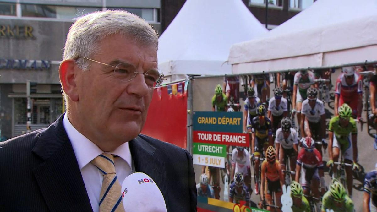 Tourburgemeester Van Zanen heeft last van 'gezonde spanning'