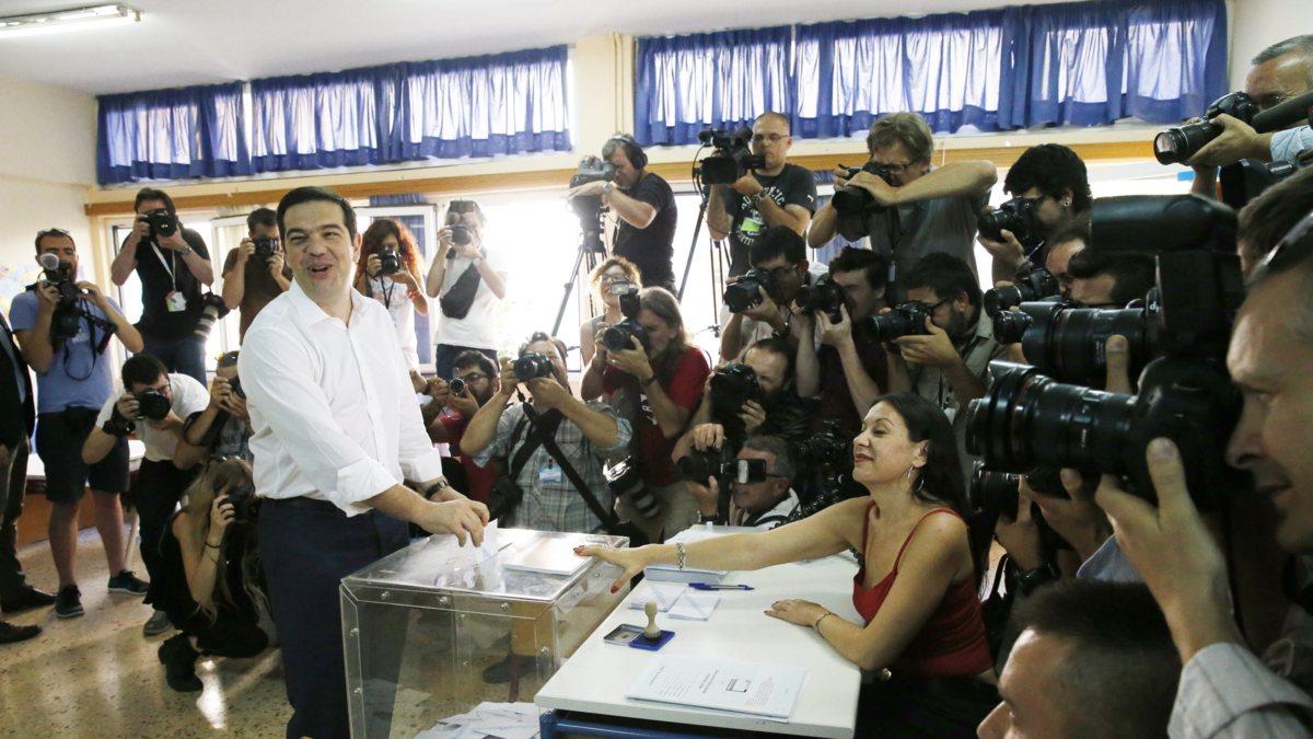 Griekenland stemt: wordt het 'nai' of 'oxi'