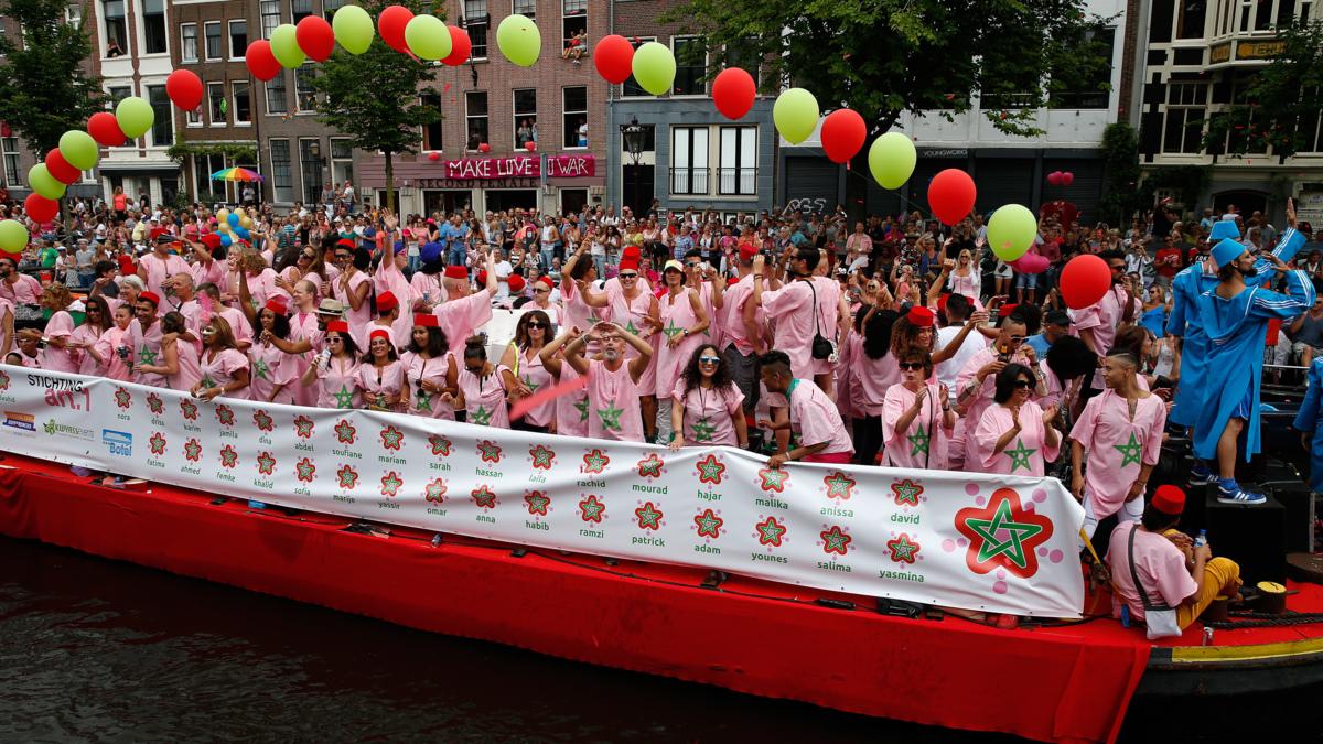 'Volgend jaar weer Marokkoboot op Canal Parade'