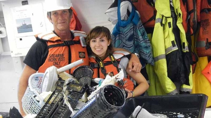 21-jarige Nederlander terug van plasticsoep-expeditie