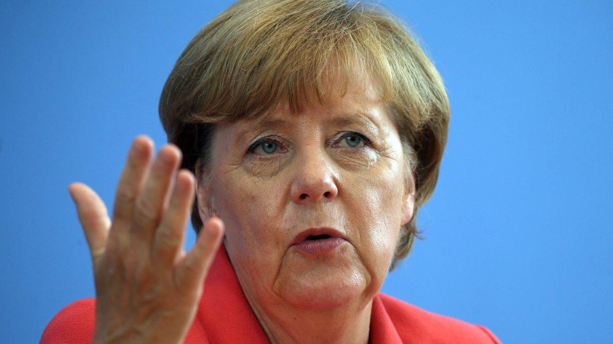 Merkel waarschuwt: Schengen-verdrag staat op het spel