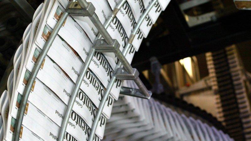 136 banen weg door sluiting drukkerij van De Persgroep