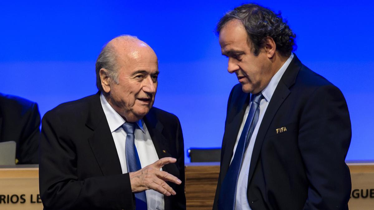 Woordvoerder Blatter: morgen besluit over schorsing