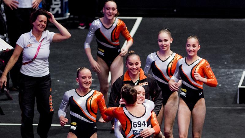 nederlands turnteam dames