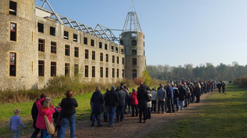 grote belangstelling voor kasteel almere | nos