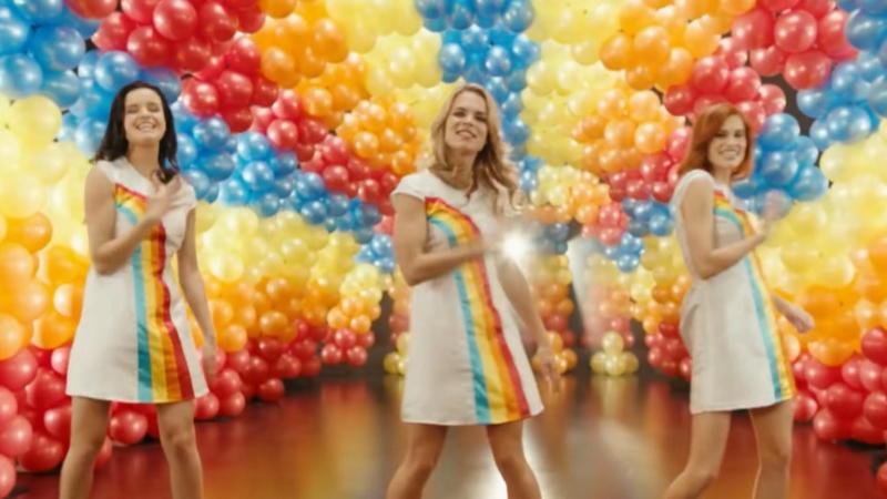 regenboogkleedje k3 voor volwassenen