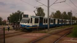 Gewonden bij metrobotsing in Amstelveen.