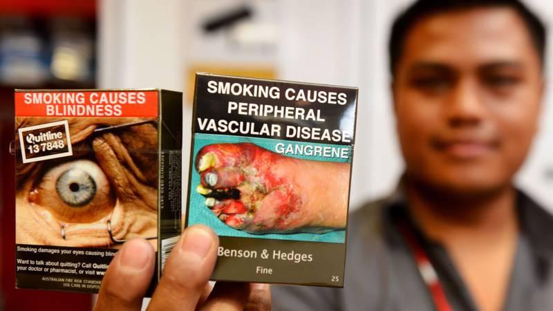 Helpen Plaatjes Van Zwarte Longen Ons Van Het Roken Af Nos