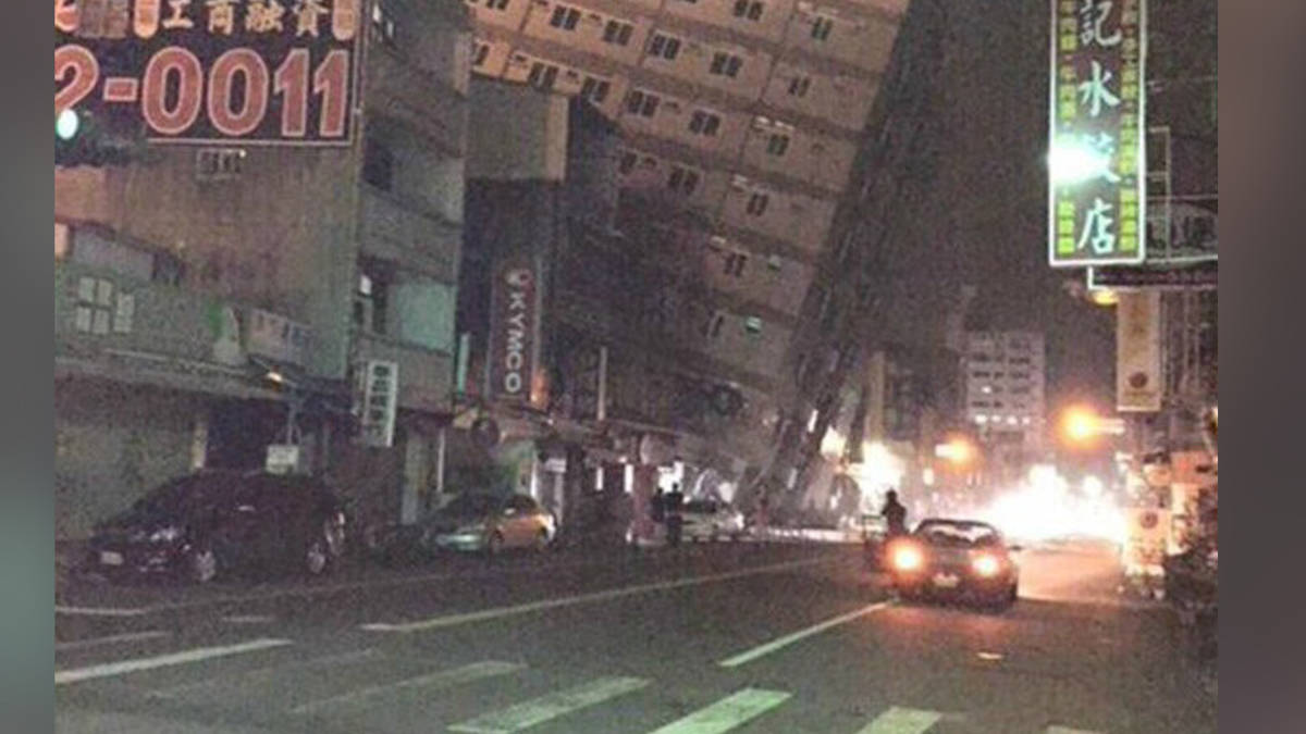 Taiwan opgeschrikt door aardbeving