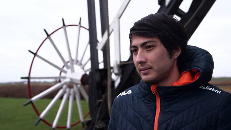 Kai Verbij is de Japanse schakel tussen molens en ijs   NOS