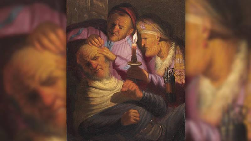 nieuwe rembrandt ontdekt nieuwsuur 3 4de operatie over het zintuig voelen tefaf