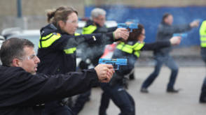 Hoe vaak gebruikten agenten in jouw gemeente vorig jaar geweld?