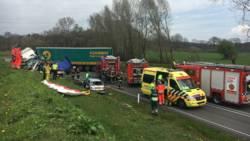 Zwaargewonden bij ongeluk Zutphen.