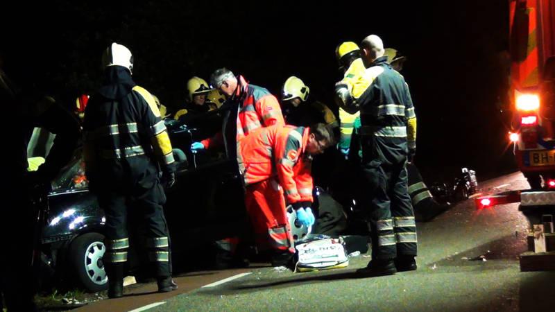 Ernstig auto-ongeluk in Lucaswolde.