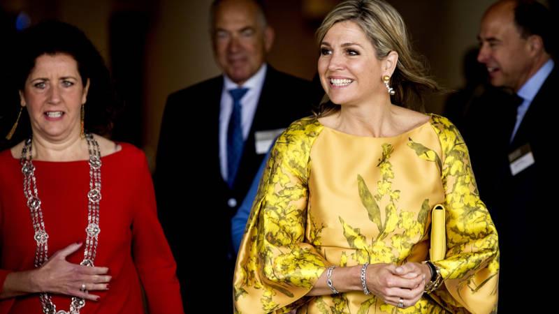 Koningin Maxima Gewoon Aan Het Werk Op Verjaardag Nos