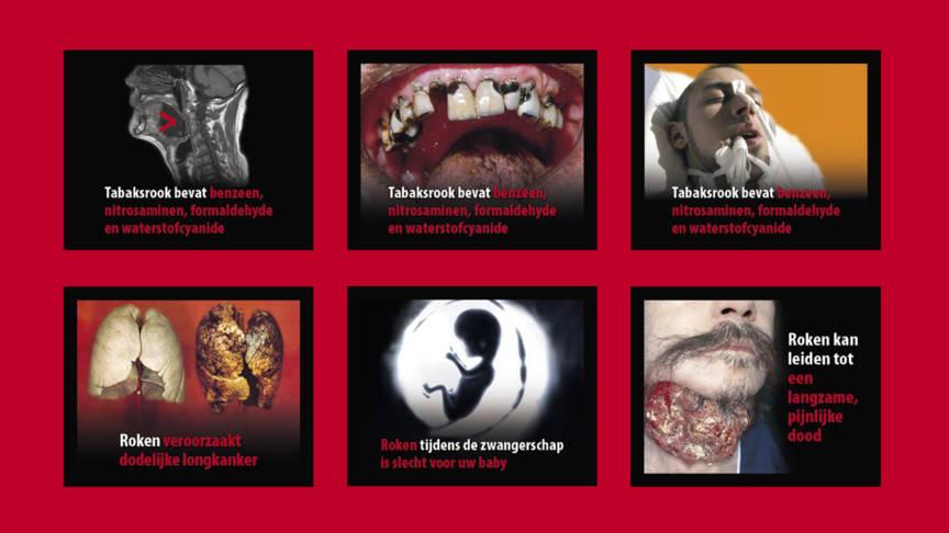 Afschrikwekkende plaatjes op pakjes sigaretten dat kan effectiever nos - Foto van de eetkamer ...