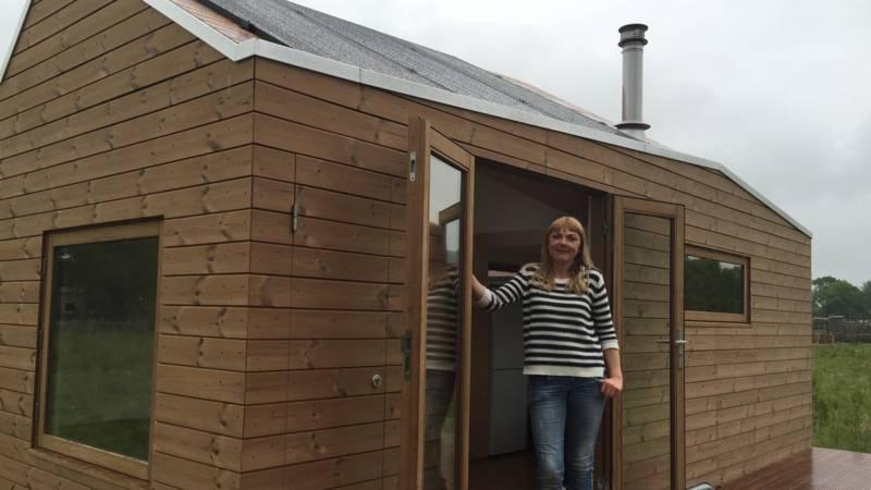 Mijn Klein Huisje : De fransen bouwen kleine huisjes voor vluchtelingen in hun