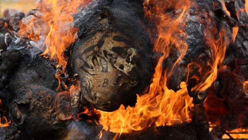 brandende huid