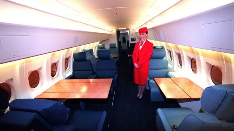 Wordt het nieuwe regeringsvliegtuig een boeing of een for De koning interieur