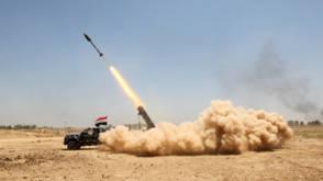 Bekijk details van Zeventig IS-strijders dood in Fallujah bij luchtaanvallen VS